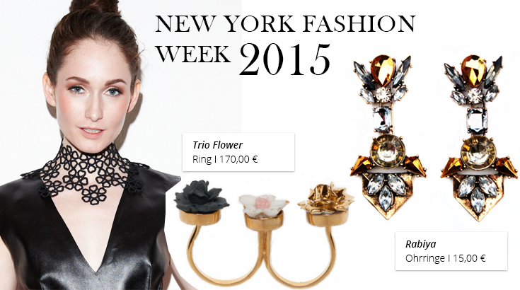 Schmucktrends der New York Fashion Week 2015