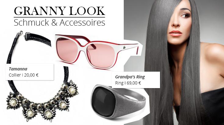 Schmuck & Accessoires zum Granny Look