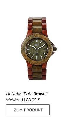 Uhr Holz