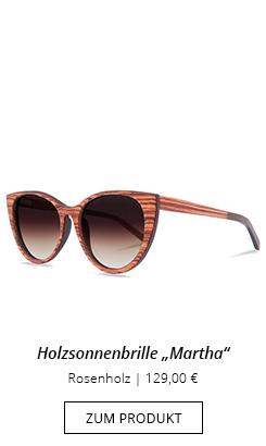 Holzsonnenbrille für Damen