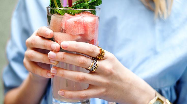 strawberrypie bloggt: Ring-Stacking als neuer Schmucktrend