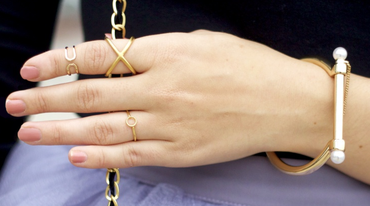 Unser Sommer-It-Piece: Der Criss Cross Ring
